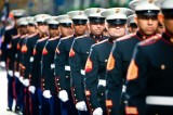 Marines march in 2011 NYC Veterans Day Parade