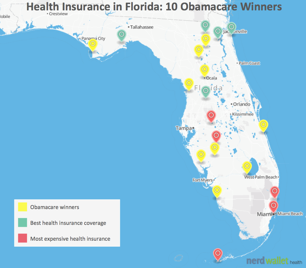 Health Insurance in Florida: 10 Counties That Win From ...
