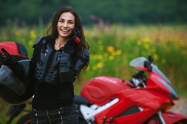 motorcyclewoman