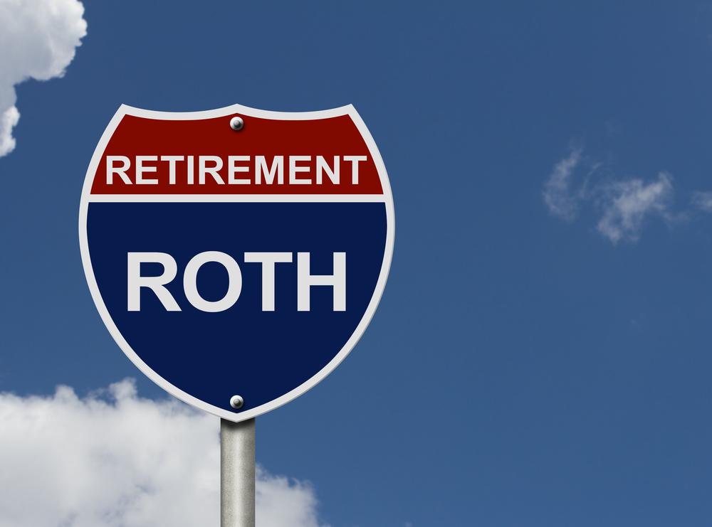 Roth Retirement Sign