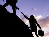 Searching for a job is like climbing a mountain