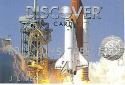 discover space shuttle