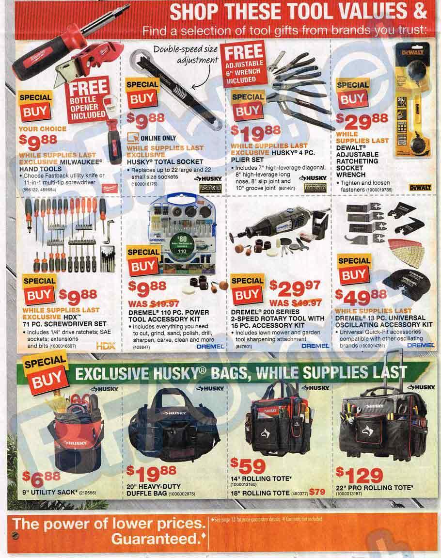 Home Depot Black Friday 16