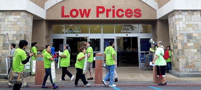 Walmart Protest 2012