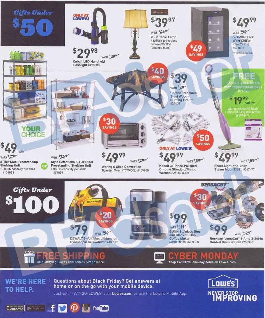 lowe 39 s black friday 2013 ad find the best lowe 39 s black friday deals and sales nerdwallet. Black Bedroom Furniture Sets. Home Design Ideas
