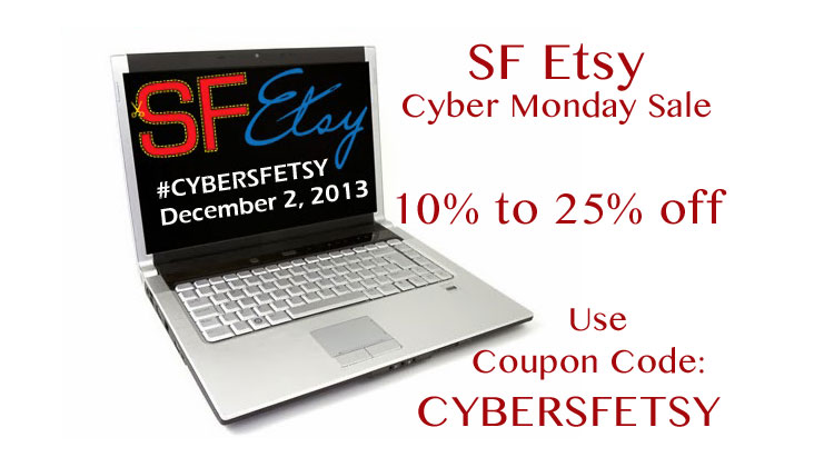 Cyber Monday In San Francisco 15 Handmade Items By The