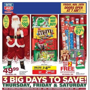 Rite Aid Black Friday Ad Scan - Page