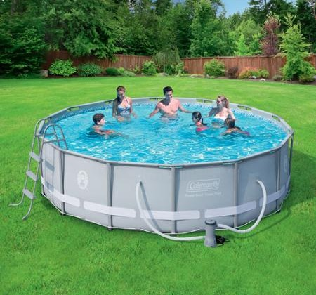 Splashing Deal On Above Ground Swimming Pool Set Nerdwallet Shopping