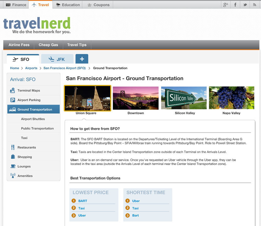 Airport-Guide-Web-Screenshot