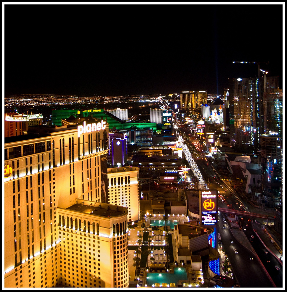 Sin City at Night