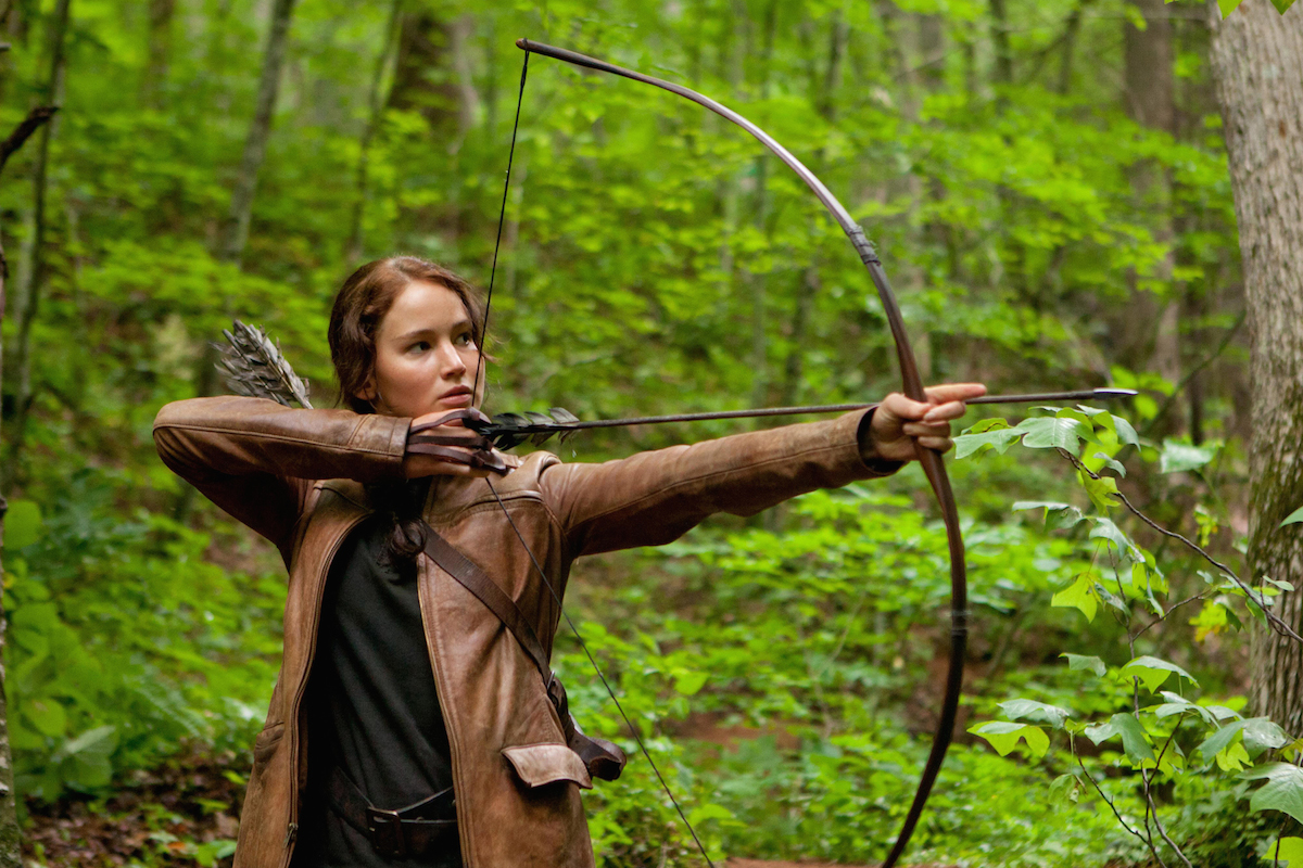 """Training Jennifer Lawrence for the """"The Hunger Games"""" – and Igniting an Archery Revival"""