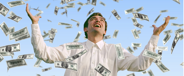 Taxes on winning money
