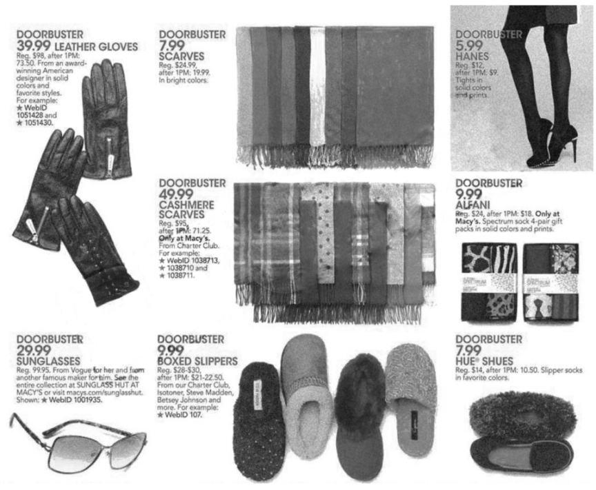 Macy's Black Friday Ad Scan 2013 - Page 32