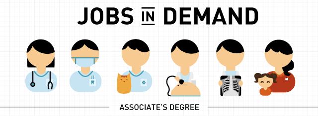 jobs associate degree