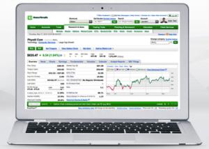 Trading fees trading platform