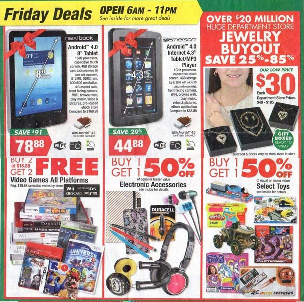 Big Lots Black Friday 2012 Ad Comes With Special Thursday