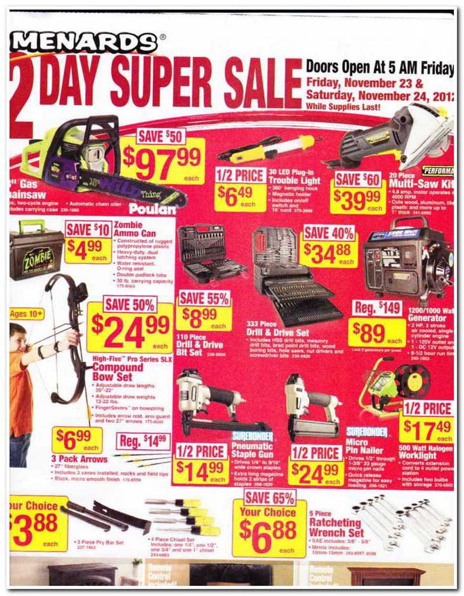 Menards sales ads : Recent Deals