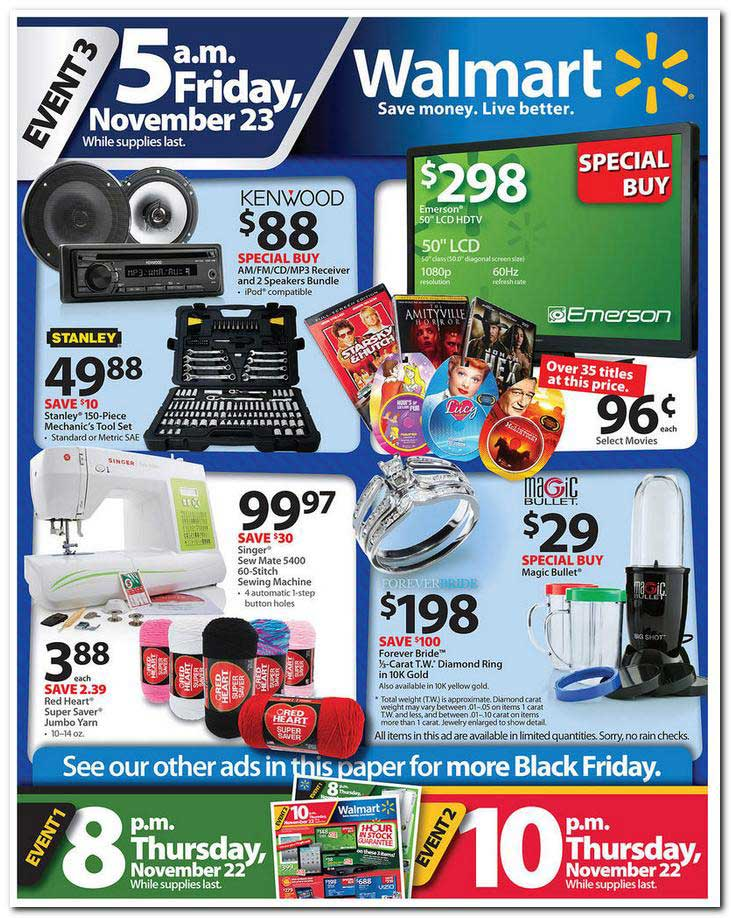 WALMART BLACK FRIDAY ITEMS