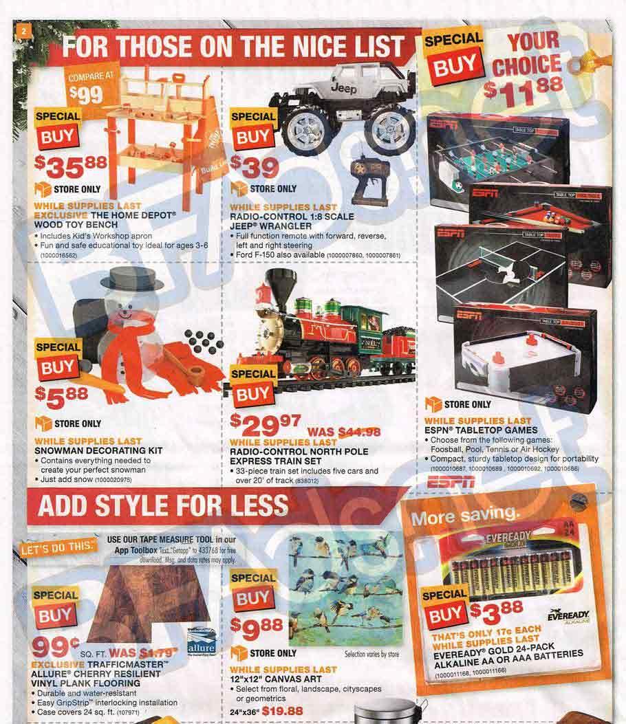 0f27f837986 Krupuk Home Designs  Home Depot Black Friday 2013 Ad – Find the Best ...
