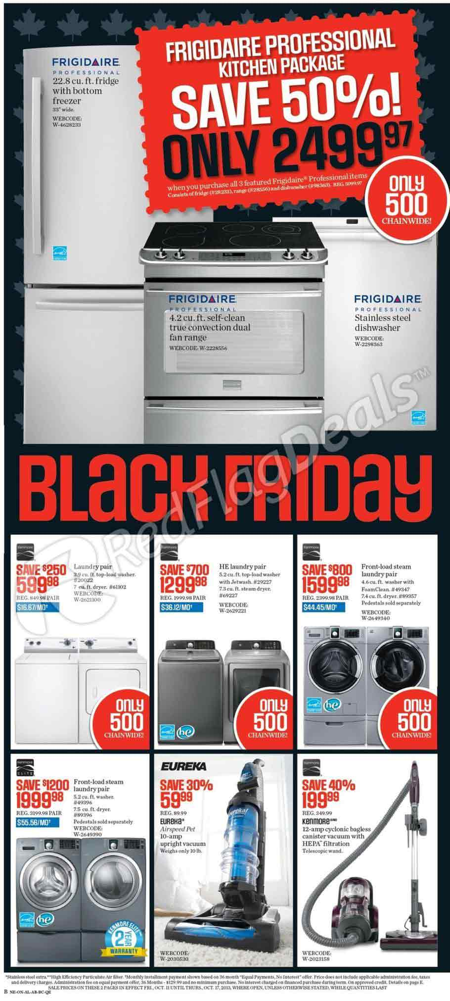 Sears Canada Black Friday Ad Scan 2013 Page 2