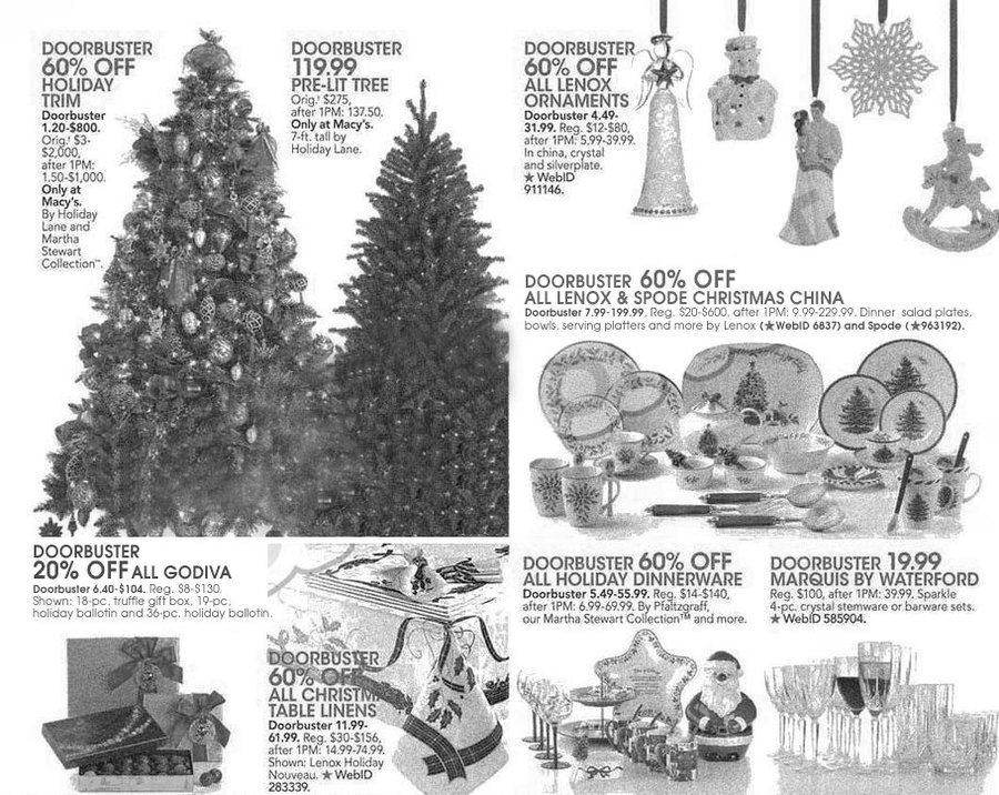 Macy S Black Friday Ad Scan 2013 Page 12