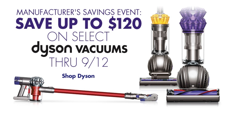 Big Deals On Dyson Vacuums At Bed Bath Amp Beyond