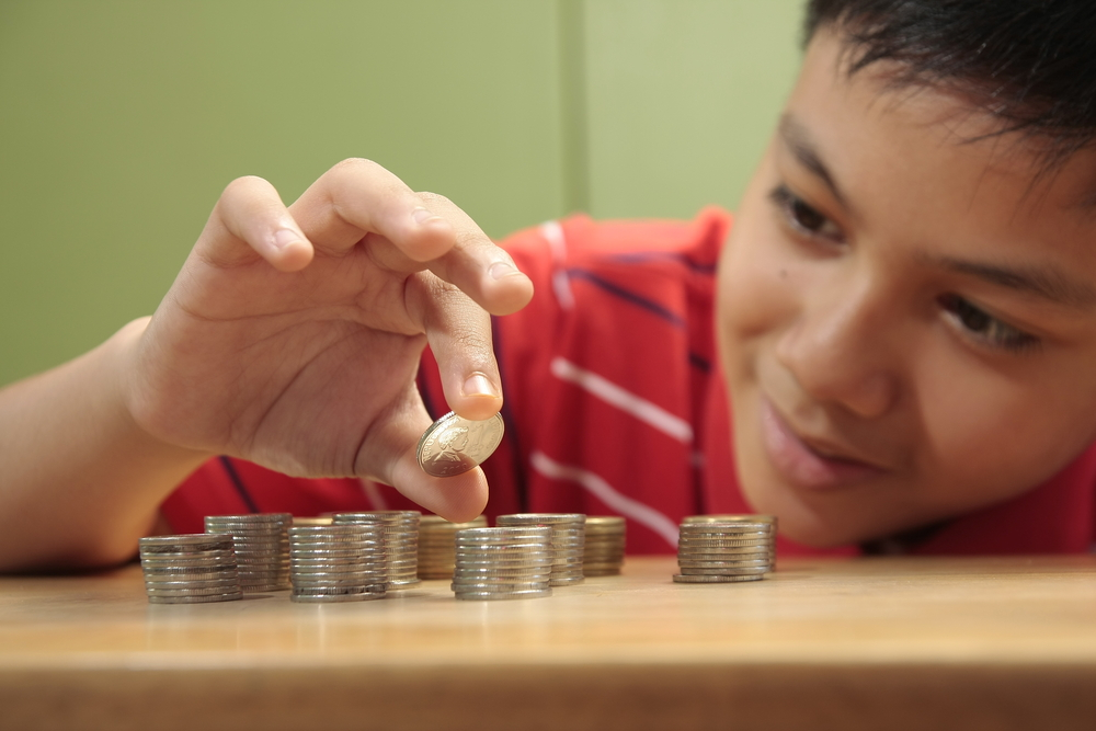 childhood and money Eaching children to handle money was never before as important as it has become in our culture today because of the emphasis on buying and spending that has been thrust upon all of us, we may have to deal with it much earlier than was necessary in the past.