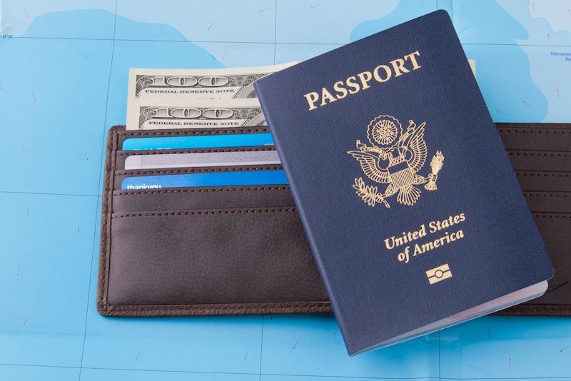 Passport and wallet