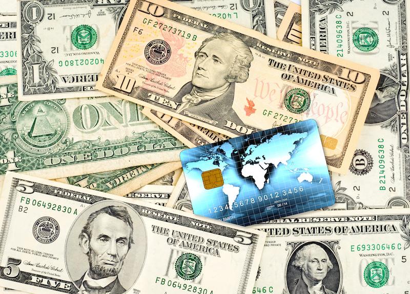 Prepaid card image via Shutterstock