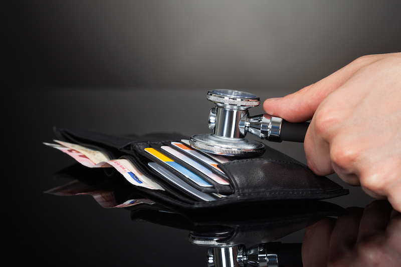 Paying for elective medical procedure with a credit card
