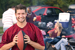 What's the best credit card for tailgating?