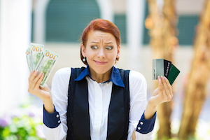 Finance a vacation with a credit card
