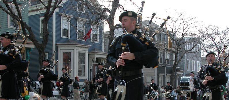 Most Irish Places in Massachusetts