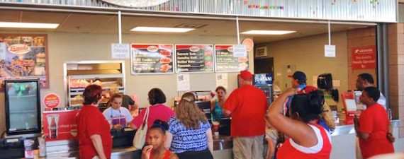 Friends American Grill's locations include Coolray Field