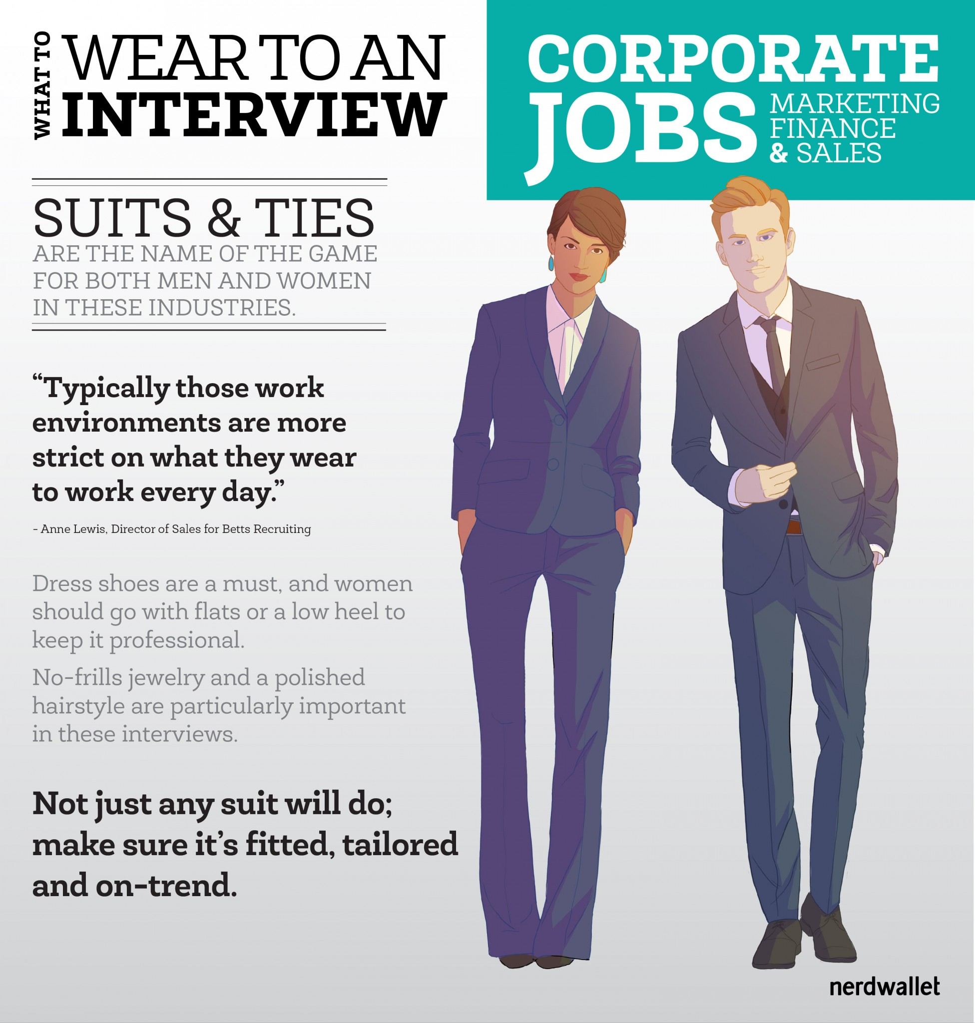 What To Wear To A Marketing Sales Or Finance Job