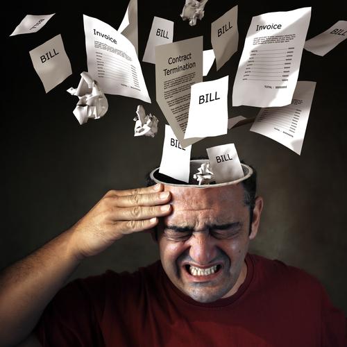 debt emotions