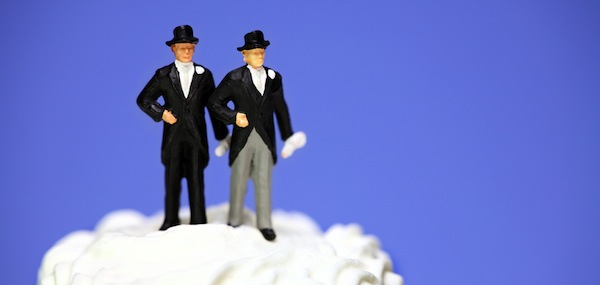two groom marriage