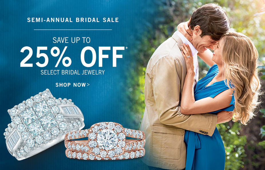 Semi-Annual Bridal Jewelry Sale at Zales