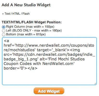 ArtFire - Paste badge image code snippet