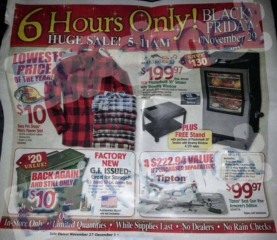 Bass pro shops black friday 2013 ad find the best bass for Black friday fishing deals