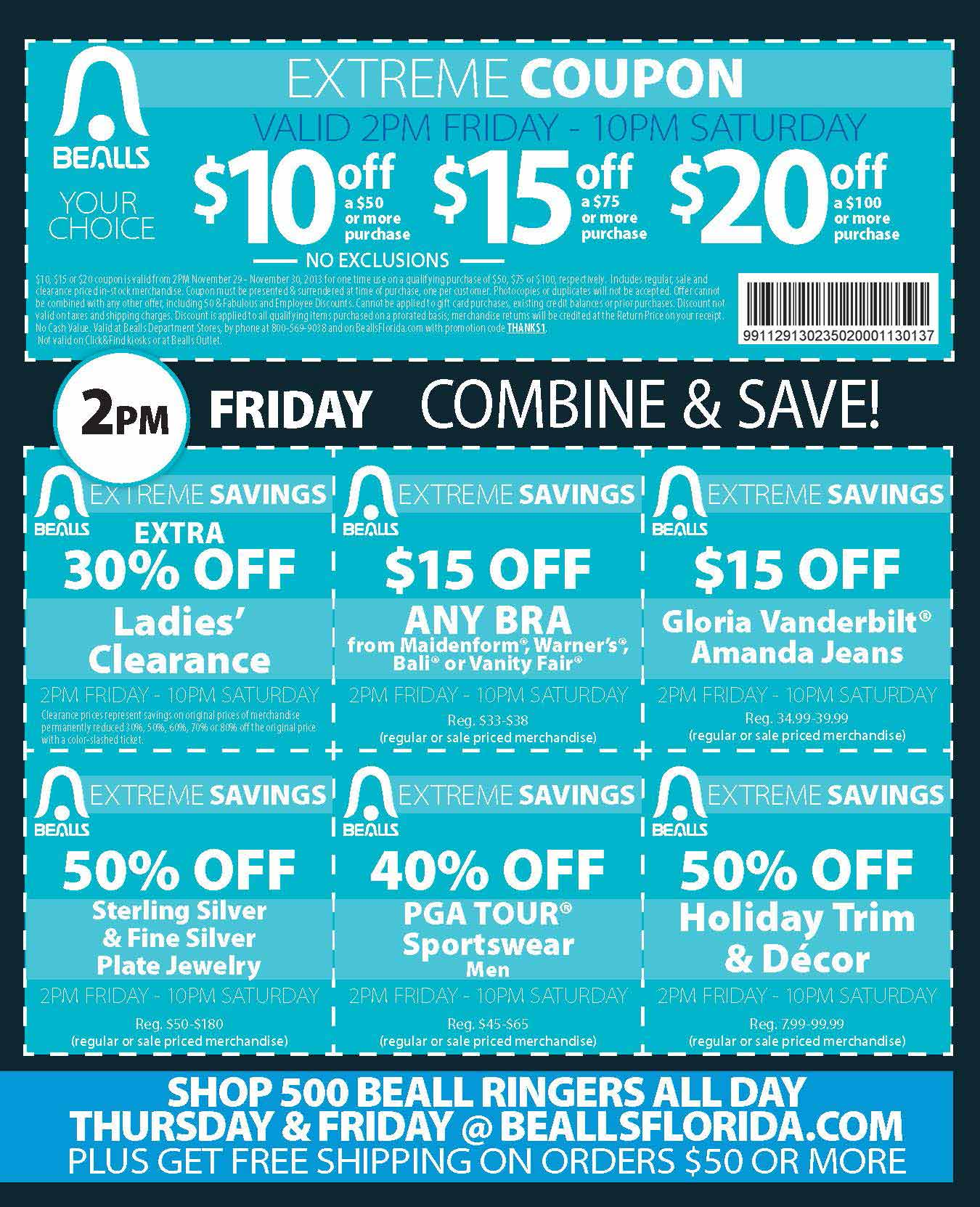 Bealls Florida Black Friday 03
