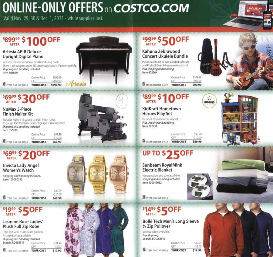 costco black friday 2013 ad find the best costco black friday deals and sales nerdwallet. Black Bedroom Furniture Sets. Home Design Ideas