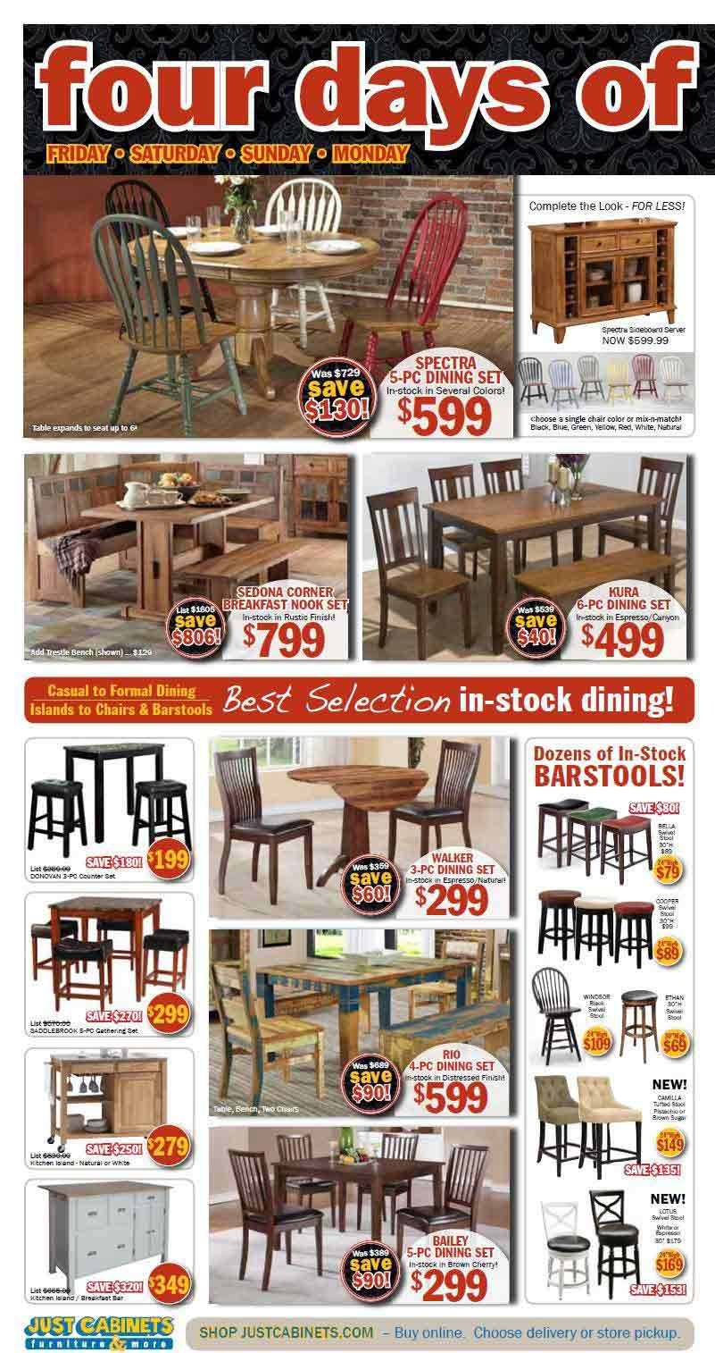Just Cabinets Furniture Black Friday 2013 Ad Find The Best Just Cabinets Furniture Black