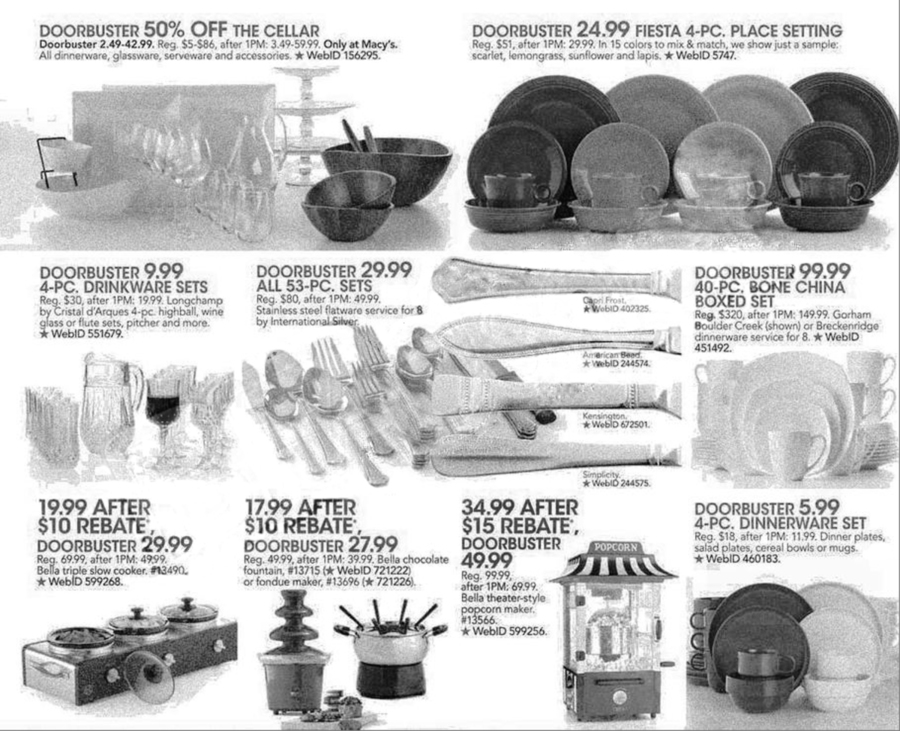 Macy's Black Friday Ad Scan 2013 - Page 13