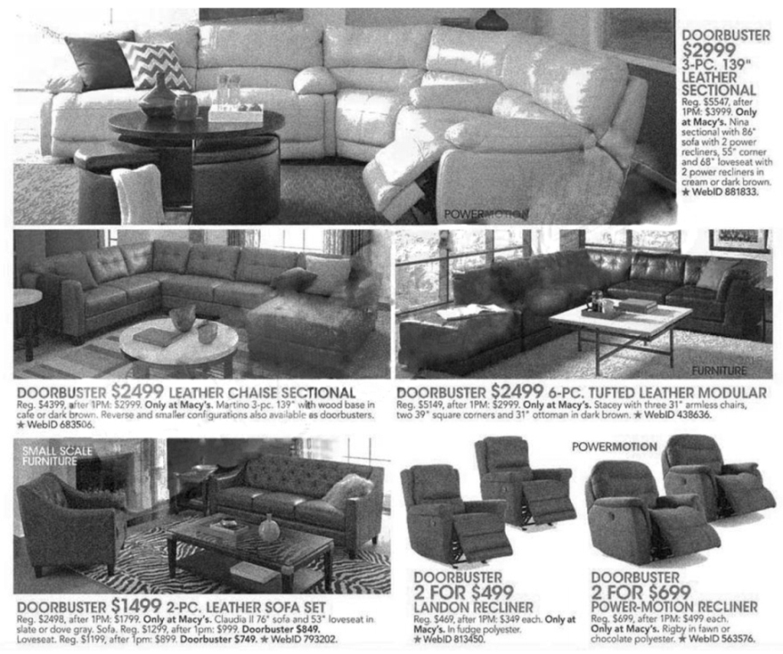 Macy's Black Friday Ad Scan 2013 - Page 19
