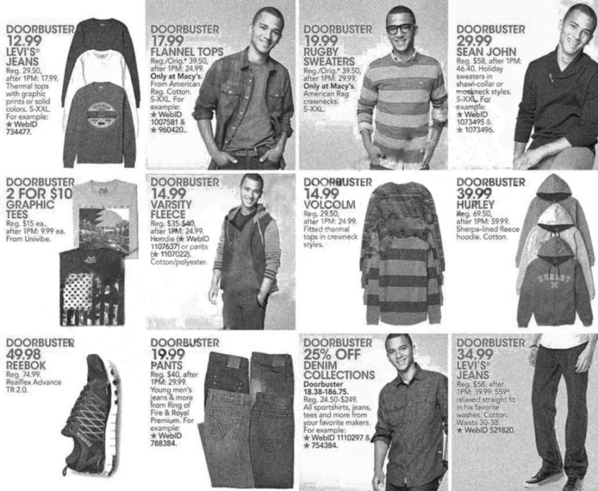 Macy's Black Friday Ad Scan 2013 - Page 22