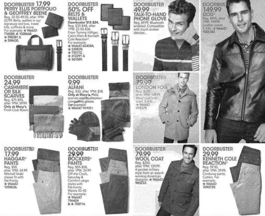 Macy's Black Friday Ad Scan 2013 - Page 29