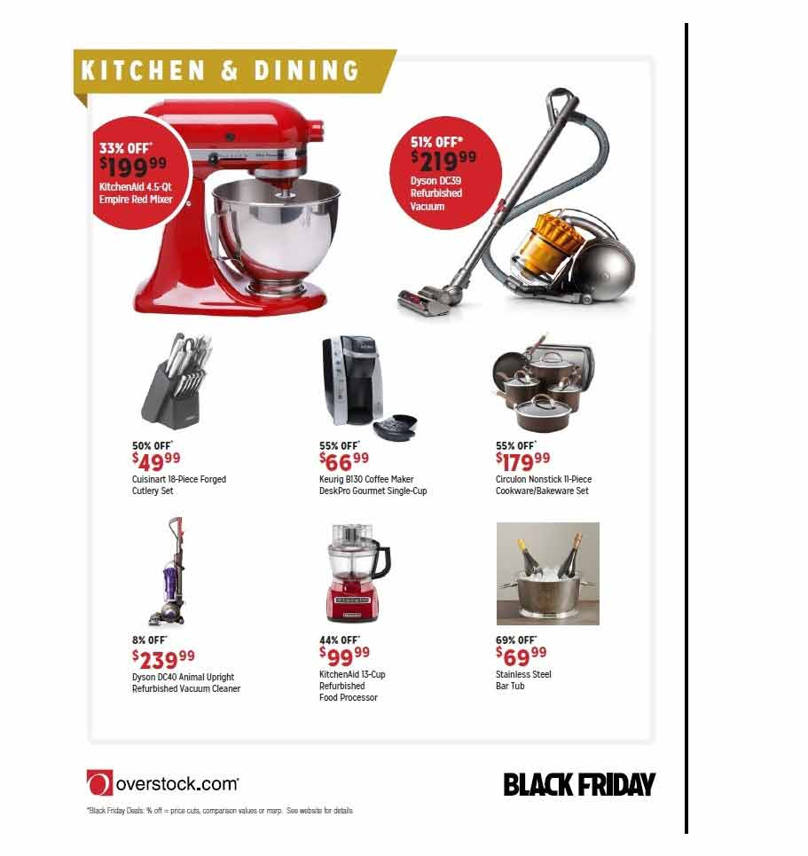 Overstock.com Black Friday 2013 Ad