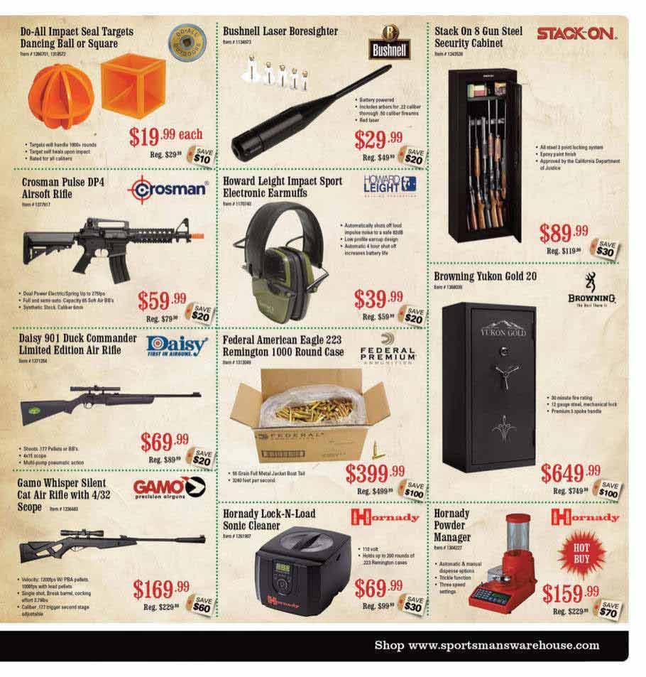 Sportsman Warehouse Black Friday Ad Scan 2013 – Page 3