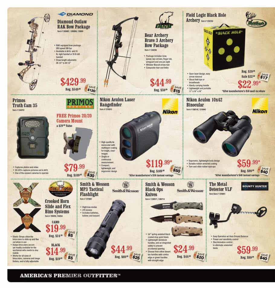 Sportsman Warehouse Black Friday Ad Scan 2013 – Page 4